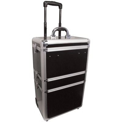 City Lights 3 Tier Lockable Case on Wheels