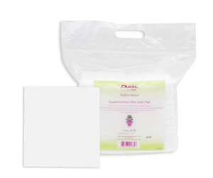 DUKAL Reflections Square Cotton Skin Care Pad 4''x4''- ply (100pk)