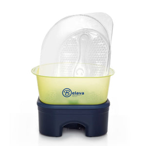 Belava Pro Foot Massager with Heater in Lime-Yellow