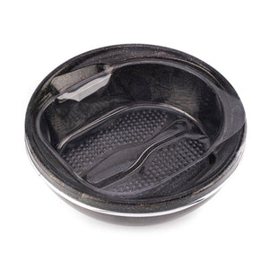 Belava Glitter Pedicure Bowl - Black