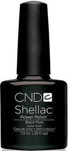 CND Shellac Gel Polish - Black Pool
