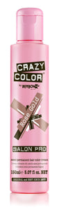 Crazy Color Semi-Permanent Hair Color Cream - Rose Gold No. 73 (150ml)