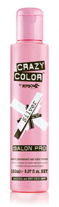 Crazy Color Semi-Permanent Hair Color Cream - Silver No. 027 (150ml)