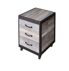 Elora Pedicure Supply Cart with 3 Drawers