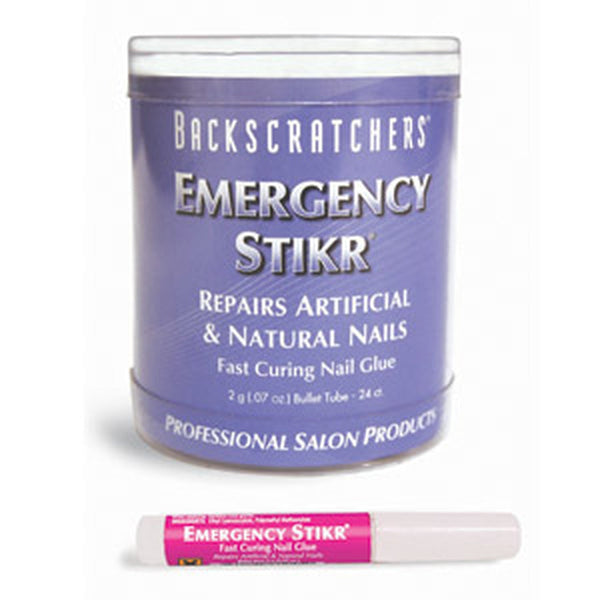 Backscratchers Emergency Stikr Bullet Tube (2G 24 Count)