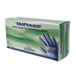 EMPOWER® Nitrile Powder Free (PF) Exam Gloves (100/Box)