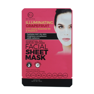 Essential Oil Facial Sheet Mask Grapefruit