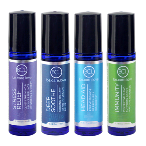 Essential Oil Roll-On Testers (4 Count, 0.34 Oz)