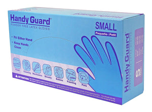 Handy Guard 4 mil Latex Powder Free Gloves (100/Box)