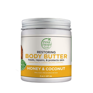 Honey & Coconut Body Butter (8 Oz)