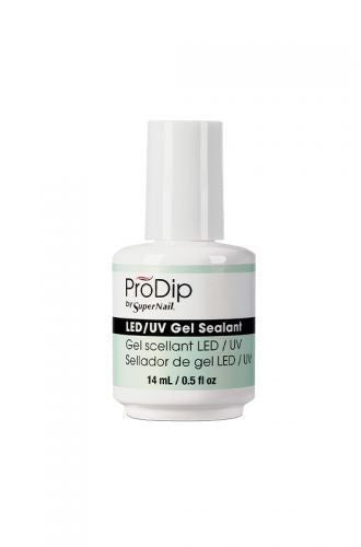 SuperNail ProDip LED/UV Gel Sealant 0.5 oz