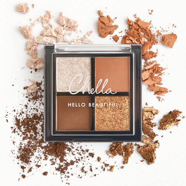 Chella Travel Size Neutral Eye Shadow Pallete