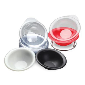Belava Manicure Bowl with 20 Disposable Liners (Red, Black, or Vanilla)