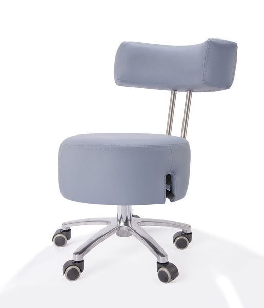 Belava Performer Nail Tech Stool with Low Pump