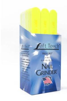 "Soft Touch 7"" x 3/4"" Disinfectable Files-Neon"