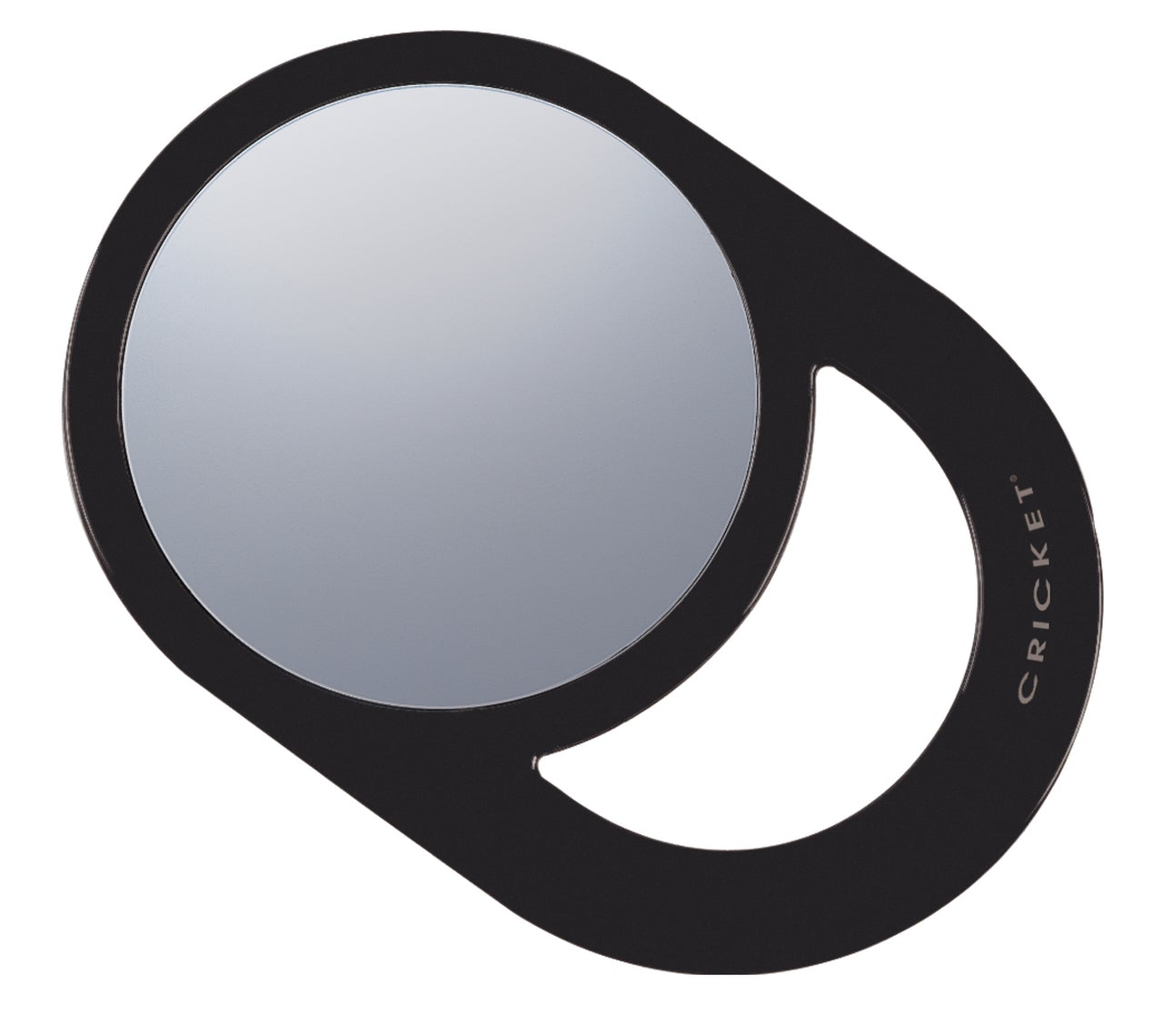 Cricket Oval Styling Mirror Black