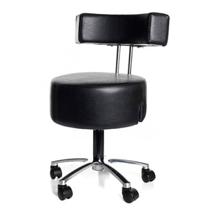 Belava Performer Esthetician Stool with High Pump