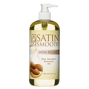 Satin Smooth Satin Release Wax Residue Remover Oil 4 oz