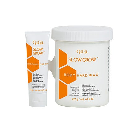 Gigi Slow Grow Body Hair Removal 2-Step System (8 oz)