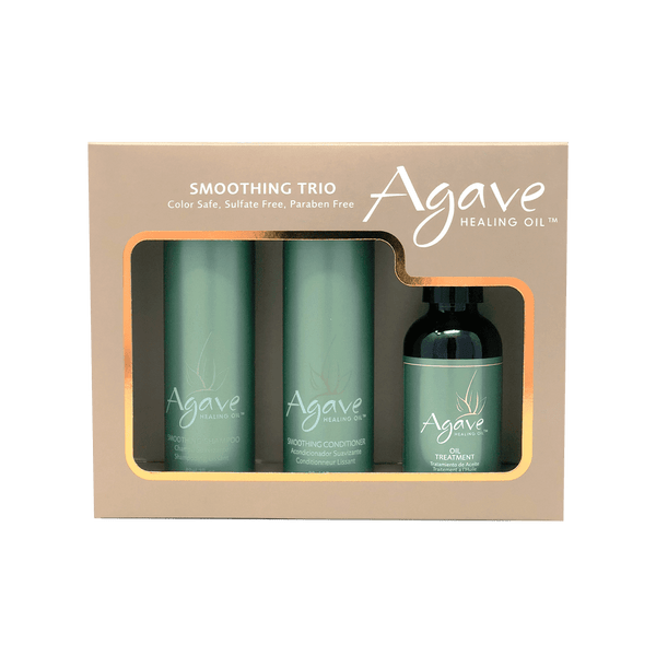 Agave Healing Oil Take-Home Smoothing Haircare Trio