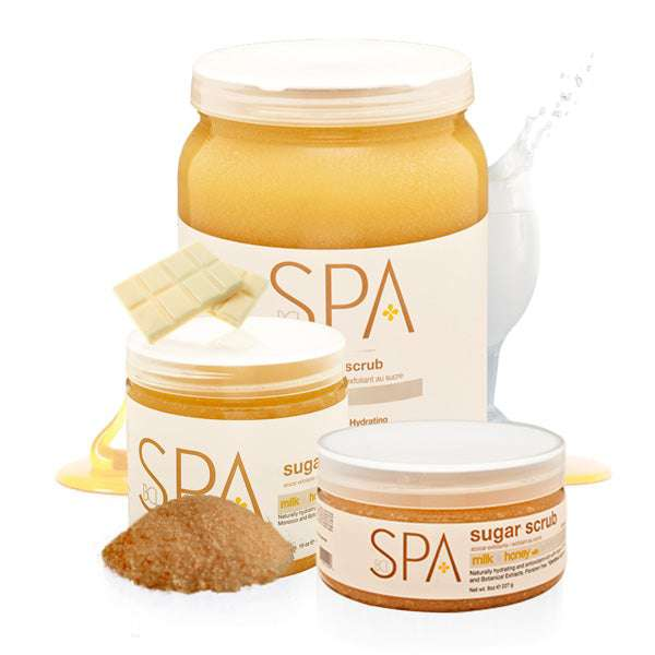 SPA Sugar Scrub Milk + Honey with White Chocolate