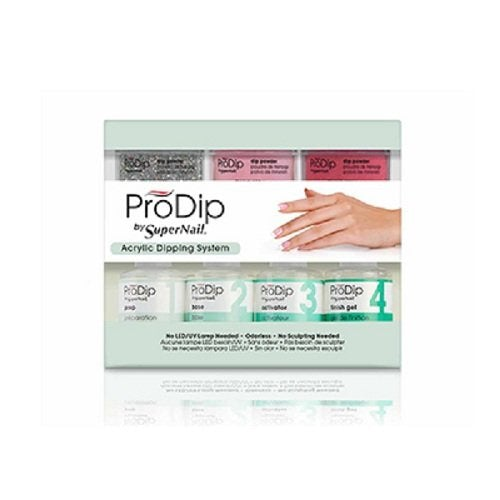 SuperNail ProDip Starter Kit, 11 piece