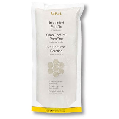 Gigi Unscented Paraffin (16 oz)
