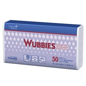 Wubbies Embossed Towels 2-Ply (50/Box)