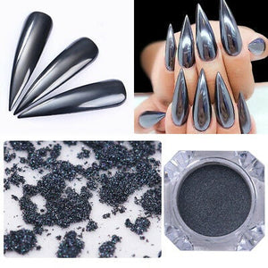 Black Mirror Nail Powder