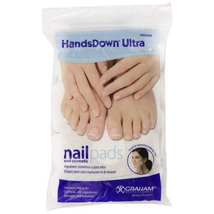 HANDSDOWN® ULTRA Nail & Cosmetic Pads (240 Count