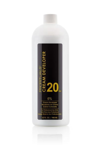 Prorituals Cream Developer (20 volume) 32 oz