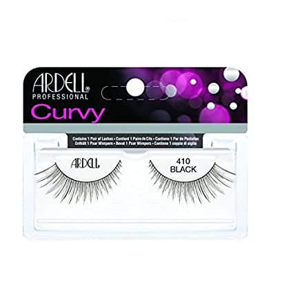Curvy Black Ardell Strip Lashes