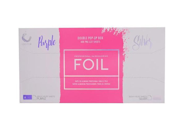 Colortrak DUO POP-UP FOIL, PURPLE AND SILVER