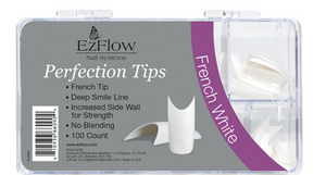 EzFlow Perfection French Tips - 100ct