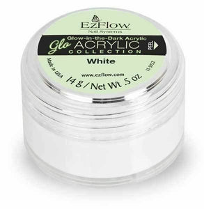 EzFlow Gloacrylic Glow-in-the-dark White - 0.5 Oz