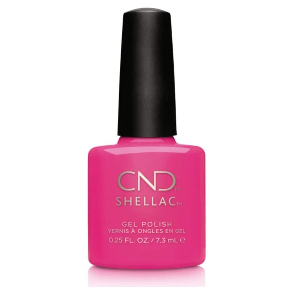 CND Shellac Polish - Hot Pop Pink