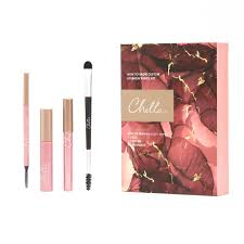 Chella How To Brow Custom Eyebrow Pencil Kit