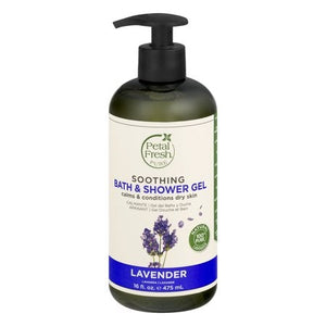 Petal Fresh Soothing Bath & Shower Gel Lavender, 16 fl oz