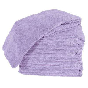 Soft 'N Style Microfiber Towels - Lilac