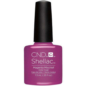 CND Shellac Gel Polish - Magenta Mischief