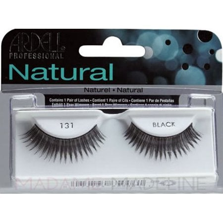 Ardell Natural 131 Black Lashes