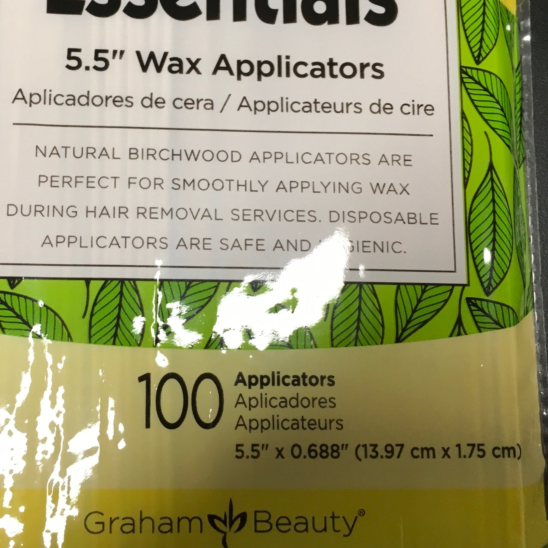 Birchwood Wax Applicators 5.5