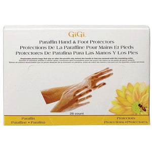 Gigi Plastic Hand And Foot Protectors 26 Ct