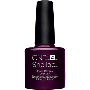 CND Shellac Gel Polish - Plum Paisley