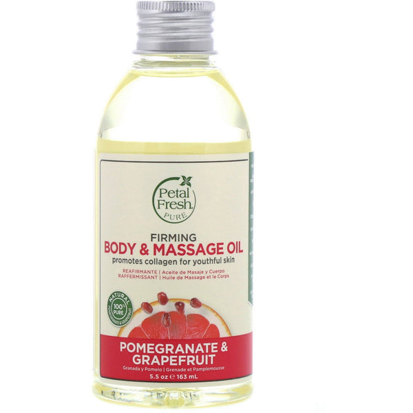Petal Fresh Pomegranate & Grapefruit Body & Massage Oil 5.5 oz