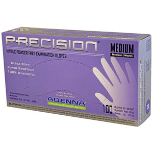 PRECISION® Nitrile Powder Free (PF) Exam Gloves (100/Box)
