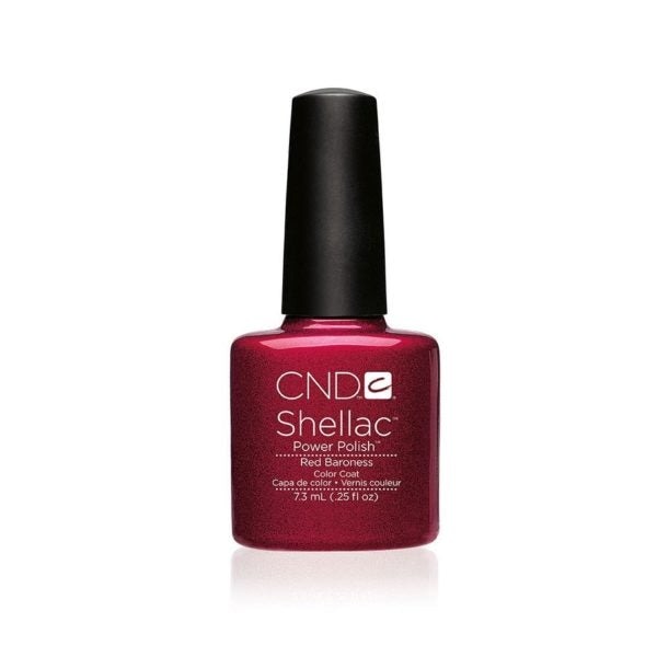 CND Shellac Gel Polish - Red Baroness