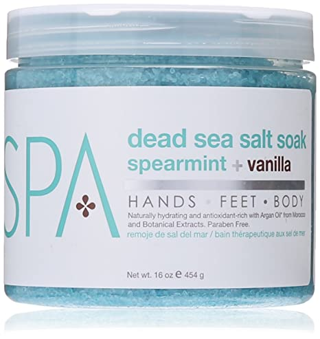 BCL Dead Sea Salt Soak Spearmint & Vanilla 16 oz