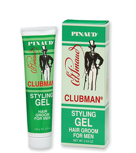 Clubman Pinaud Styling Gel Hair Groom for Men (3.75 Oz)