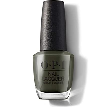 OPI Nail Lacquer - Things I've Seen In Aber-green O